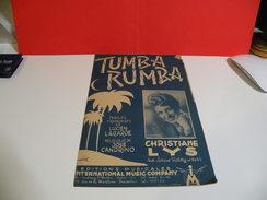 Musique & Partitions > Christiane Lys > Tumba Rumba - Paroles + Musique- Ed Musical - Musique & Instruments