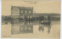 CREIL - Inondation De L'Oise, 5 Mars 1910 - En Aval De Creil - Creil