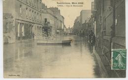 CREIL - Inondation De L'Oise,  Mars 1910 - Rue De Montataire - Creil