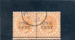 STRAIT SETTLEMENTS 1883-94 O - Straits Settlements