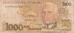 BRESIL   1000 Cruzeiros   ND (1991).   Sign.29   P. 231c - Brasilien