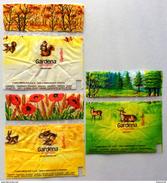 SPERLARI CARAMELLE GARDENA Tre Involucri Originali Delle Caramelle / Anni '70 - Altre Collezioni