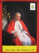 Roma / Citta Del Vaticano (RM) - Papa Joannes Paulus Pp II  - Anno Santo Della Redenzione 1983 - Vatikanstadt