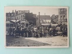 DORTMUND , Witten , Elberfeld , FotoKarte ,  Personenpost , Postkraftwagen 1828 ,Paketzustellung Bis 1925, - Dortmund