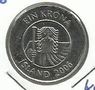 Islandia_2006_1 Krona. - Islandia