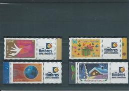 """FRANCE - ANNEE 2002 - Les 4 Timbres Personnalisés """"Timbres Personnalisés"""" De L'année. - Personalized Stamps"""