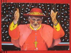 "Roma / Citta Del Vaticano (RM) - Karikatur: Papst Johannes Paul II ""Who's Pulling The Strings?"" - Vatikanstadt"