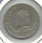 Honduras_1967_50 Centavos. - Honduras