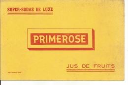 Buvard Primerose, Jus De Fruits, Super-Sodas De Luxe. - Alimentaire