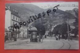 Cp Moutiers Avenue De La Gare Animé N 1315 - Moutiers