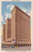 USA - TEXAS - HOUSTON's RICE HOTEL - Houston