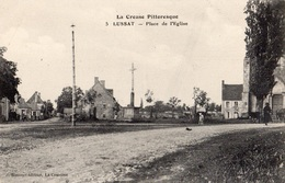 LUSSAT PLACE DE L'EGLISE - Other Municipalities