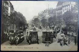 CPA 87 Paris Le Boulevard Bonne-Nouvelle - LL 1916 - Autres