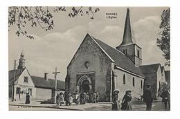 CPA 58 DORNES L'Eglise - France