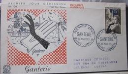 Enveloppe FDC 106 - 1955 - Ganterie - Saint Junien - France