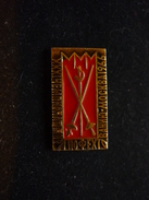 Fencing World Championships 1966 Moscow USSR Pin - Fencing