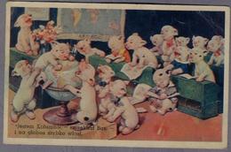 Bonzo , Chien, Dog Comic George Studdy  About  1946y.  Edition Poland D511 - Illustratori & Fotografie