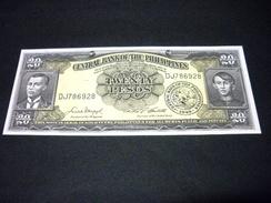 PHILIPPINES 20 Pesos 1949 , Pick N° 137 D , UNC , PHILIPPINES - Philippines