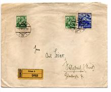 RECOMMANDEE 1936 LINZ 60+8 Groschen - Briefe U. Dokumente