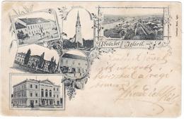 #7717 Slovakia, Iglo, Spisska Nova Ves, Postcard Mailed 1900 Multi-view - Slovaquie