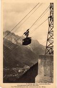 CHAMONIX MONT BLANC  -   Le Telepherique De L'aiguille Du Midi - Chamonix-Mont-Blanc