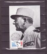 2611 Maréchal De Lattre De Tassigny 1889 1952  *CARTE MAXIMUM *60/60* - Maximum Cards