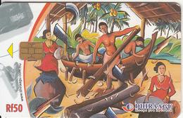 MALDIVES ISL. - Boat Builders, CN : 341MLDGIA, Chip M1, Used - Maldives