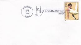 USA Cover Atlanta 1996 Olympic Summer Games - Gymnastics Station  (T14-13) - Zomer 1996: Atlanta