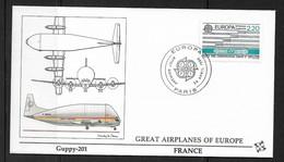 FRANCE 1988 EUROPA ON FLEETWOOD FDC - Europa-CEPT