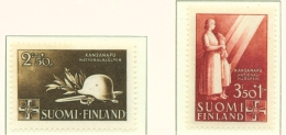 FINLAND  -  1943  National Relief Fund  Set  Mounted/Hinged Mint - Nuovi