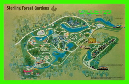 CARTES GÉOGRAPHIQUES - MAP - STERLING FOREST GARDENS, STERLING FOREST, NY - DEXTER COLOR - - Maps