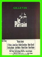 AFFICHES DE FILM - LE PARRAIN AVEC MARLON BRANDO -, FRANCIS FORD COPPOLA - ÉDITIONS F. NUGERON No E 168 - - Affiches Sur Carte