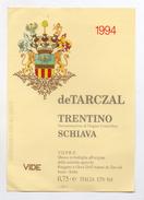 Vino Schiava - 1994 - Azienda Agricola Ruggero E Geza Dell'Adami De Tarczal - Isera (Trento) - (FDC4069) - Vino Rosato