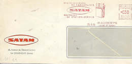 93  LA COURNEUVE  Distributeurs De Carburants Satamm Matériel De Station Service  28/06/66