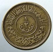 1963 - YEMEN- ½ BUQSHA - AH 1382 -KM 26 - Yemen