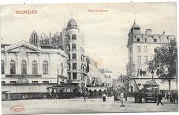 Bruxelles NA75: Porte De Namur ( Tramways) 1918 - Brussel (Stad)