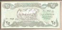 Iraq - Banconota Non Circolata Da 25 Dinari P-74b - 1990 - Iraq