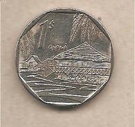 Cuba - Moneta Circolata Da 1 Peso - 1998 - Cuba