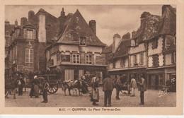 29 - QUIMPER - La Place Terre Au Duc - Quimper