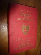 L'indispensable  PARIS Par Arrondissement  METRO- AUTOBUS- BANLIEUE - Europe