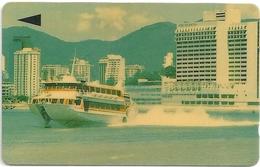 Macau - CTM - Jetfoil Ferry - 1MACM - 16.000ex, Used - Macau
