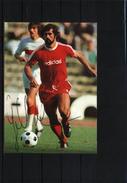 Deutschland / Germany Postkarte Mit  Autogramm - Coppa Del Mondo