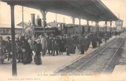 GENEVE  ARRIVEE DE L'EXPRESS DU SIMPLON  TRAIN - GE Geneva