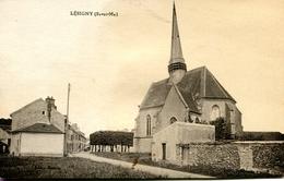 FR-77: LESIGNY: Vue Partielle Avec L'Eglise - Lesigny