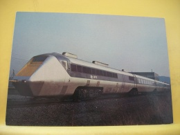 TRAIN 9476 - THIS EXPERIMENTAL GAS-TURBINE POWERED UNIT, THE APT-E, SET UP A BRITISH RAIL SPEED RECORD OF 152 M.P.H..... - Trenes