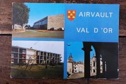 79, AIRVAULT, MULTIVUES De 1976, LA SALLE OMNISPORT, LA MAISON DE RETRAITE, L'EGLISE ET LES HALLES - Airvault