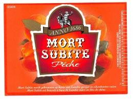 Mort Subite Peche Lambic - Brouwerij De Keersmaeker - Bière