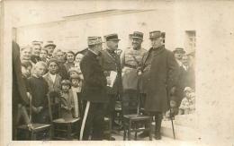 CARTE PHOTO LIEU NON IDENTIFIE - Guerre 1914-18