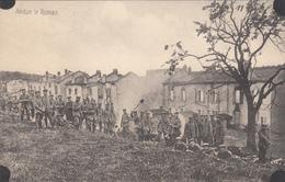 AUDUN-LE-ROMAN - Militaires Allemand -Entreprise Bâtiment Joseph Au Fond A Gauche De La Carte-dép54(guerre De 14-18) - Francia