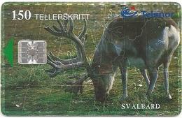 Svalbard - Telenor - Svalbard Reindeer - N-141A (Serial C92030083) - 02.1999, 12.000ex, Used